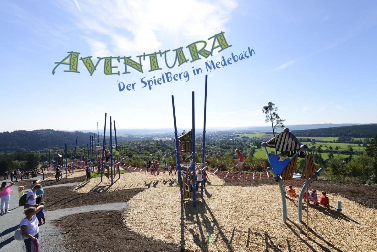 AVENTURA - Der SpielBerg in Medebach ©Berliner Seilfabrik