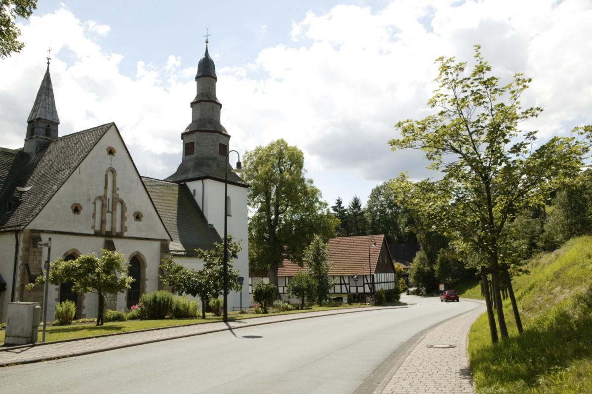 Ortsmitte Medebach-Deifeld