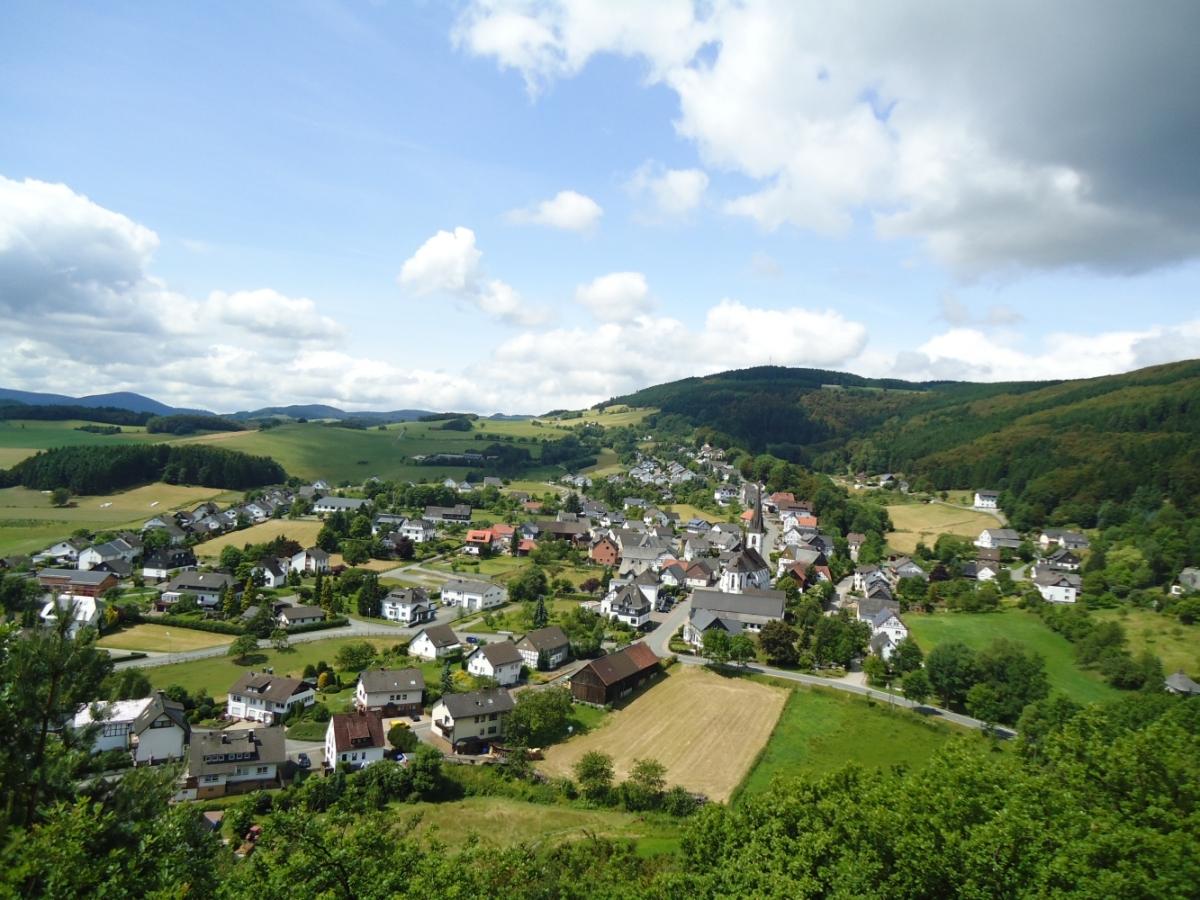 Ortsansicht Medebach-Düdinghausen