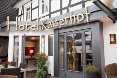 Eingang Hotel Kaiserhof Medebach-Medelon