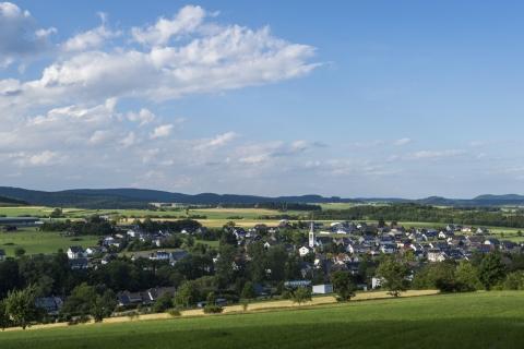 Ortsansicht Medebach-Medelon - Bildrechte Sauerland Wanderdörfer Klaus Peter Kappest