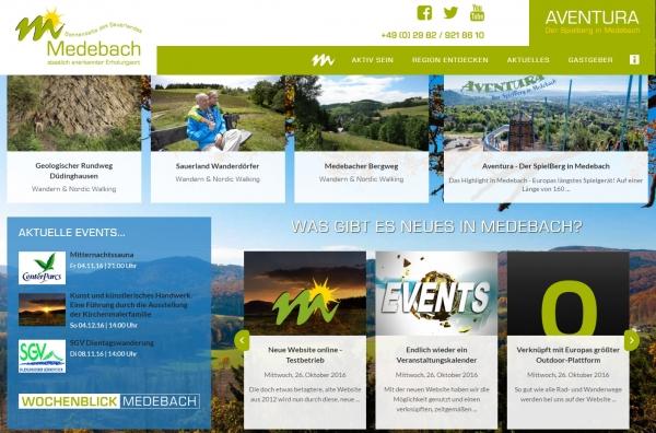 Neue Website online - Testbetrieb