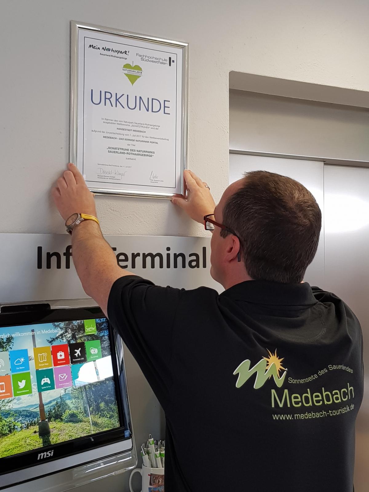 Geschäftsführer der Touristik GmbH Medebach - Michael Aufmhof
