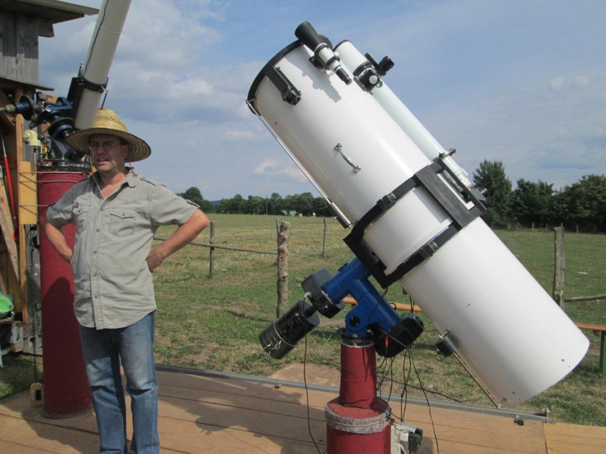 Rainer-Ludwig Sternwarte Medebach - Sonnenbeobachtung