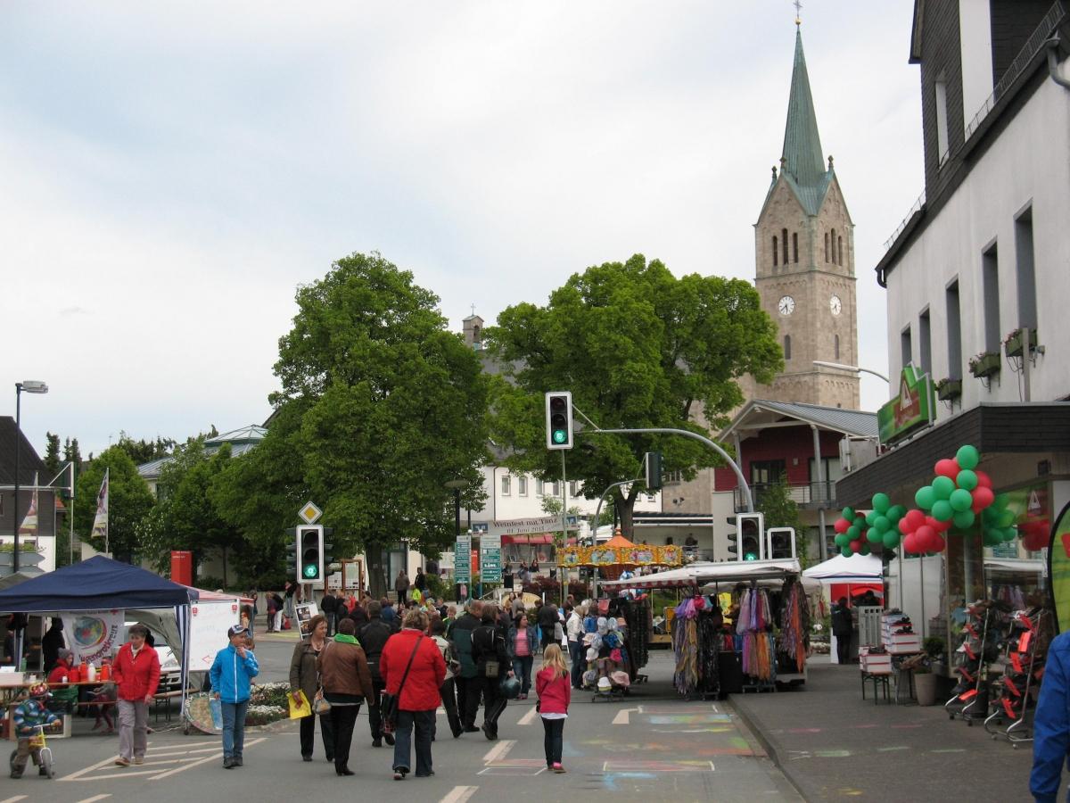 Straßenmalerfestival in Medebach