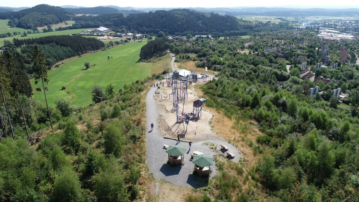 Am Bromberg entsteht eine weitere Sport- und Freizeitwelt